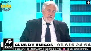 Ariza: 'Esta TV es posible gracias al Club de Amigos; personas que creen que valemos la pena'