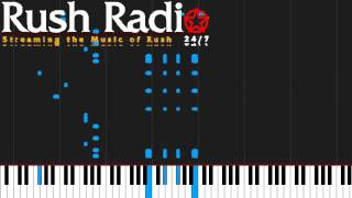 How to play YYZ by Rush on Piano Sheet Music