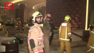 Dubai fire in address Hotel 2016