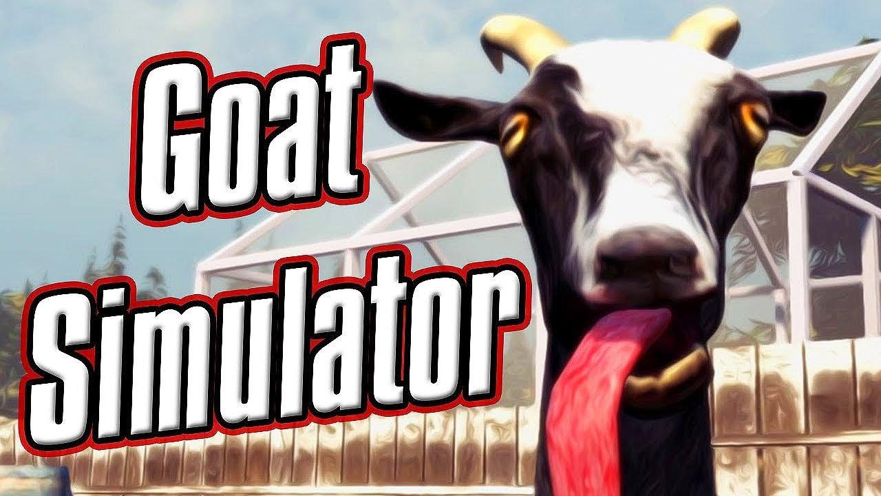 GOAT SIMULATOR #1: GAME GIẢ LẬP 24H LÀM... CON DÊ !!! Đến chịu đứa làm ra trò này =))))