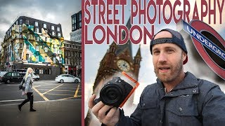 Street Photography in London with the Canon 35mm f/1.8 RF