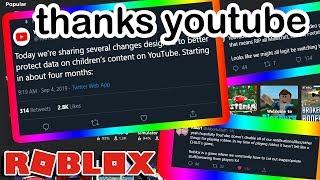 roblox youtube könnte ruinED dank youtube bekommen...