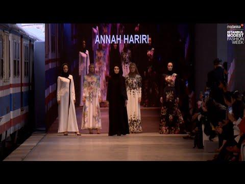 IMFW 2016 - ANNAH HARIRI SS16 RUNWAY