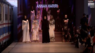 IMFW 2016 ANNAH HARIRI SS16 RUNWAY
