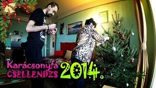 Karácsonyfa csellendzs 2014.