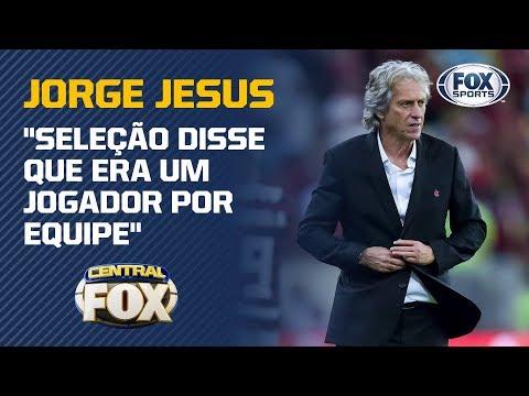 Jorge Jesus manda recados para CBF e Renato Gaúcho!