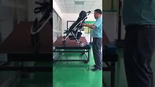Испытание коляски Largo №3