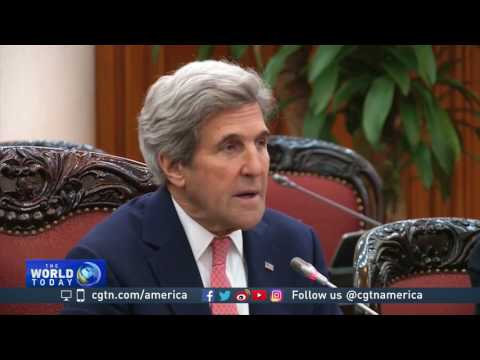 John Kerry's last visit as Secretary of State is to Vietnam