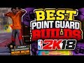 TOP 3 BEST POINT GUARD BUILDS in NBA 2K18!! *WARNING* DO NOT MAKE THE WRONG CHOICE!!