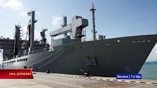 Tàu chiến Ấn cập cảng Tiên Sa, trên đường tới Guam dự diễn tập Malabar (VOA)
