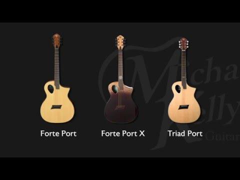 Acoustic Comparison - Triad Port / Forte Port / Forte Port X