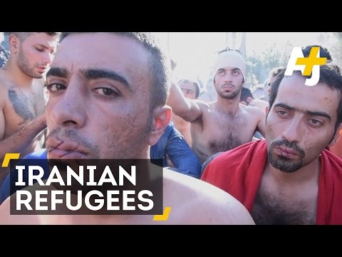 Iranian Refugees Sew Their Mouths Shut Demanding Access To Western Europe