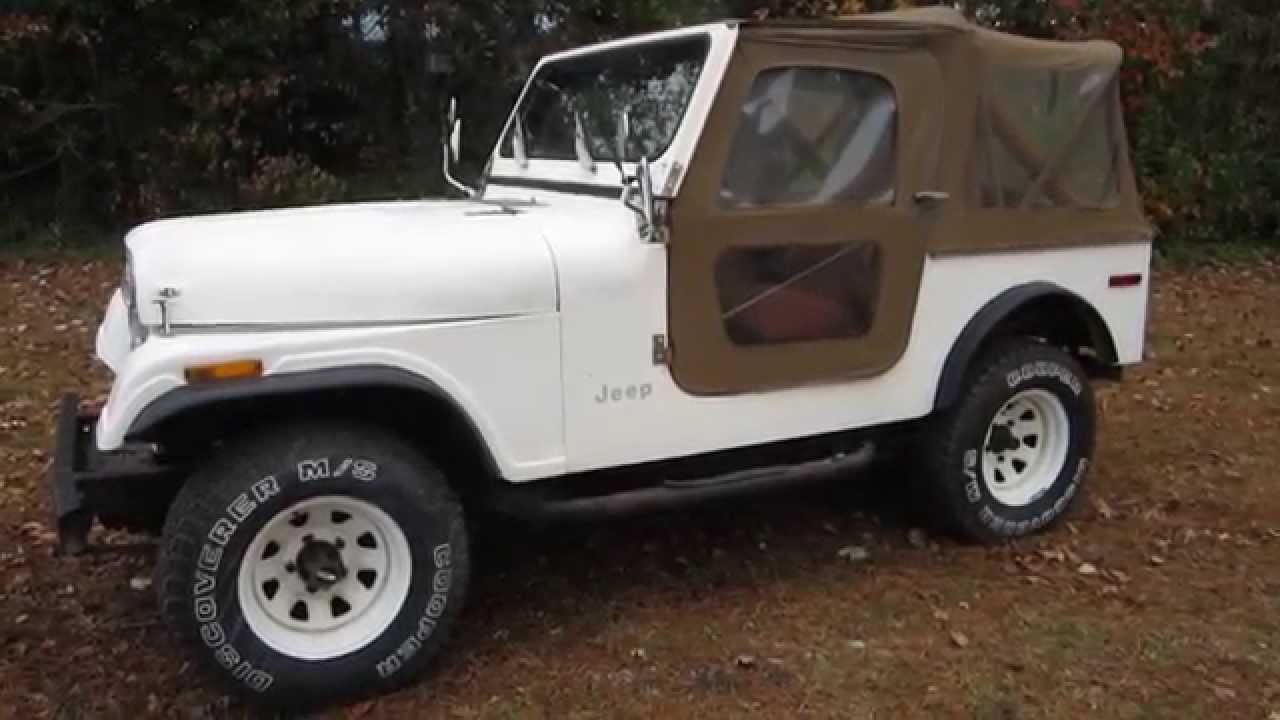** 1979 JEEP CJ7 ** 4X4 ** SOFT TOP/DOORS ** I-6 ** sold !!! PT. 2 - YouTube & 1979 JEEP CJ7 ** 4X4 ** SOFT TOP/DOORS ** I-6 ** sold !!! PT. 2 ...