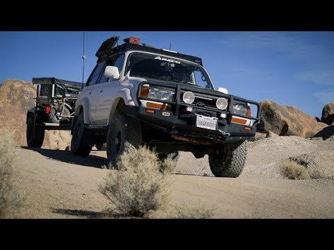 When a Toyota R&D Engineer Builds an Overland Rig - FZJ80 Rig Walk Around