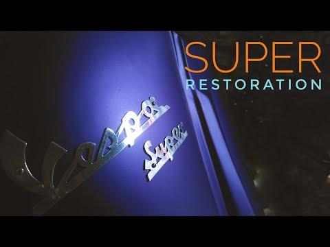 Vespa Super 150 Restoration Matte Finish