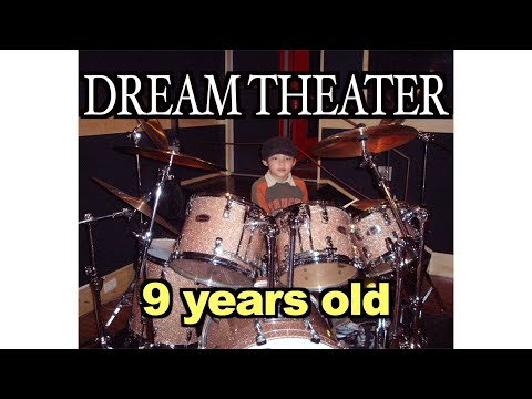 RYUGA 9 years old (Honor Thy Father - DREAM THEATER) (DRUM SOLO)