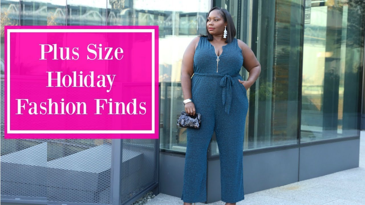 91010b919f Plus Size Holiday Fashion Finds: Dresses, Skirts, & Jumpsuits - YouTube