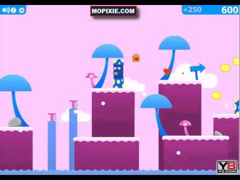 Gum Drop Hop 4 Game Walkthrough | Games For Kids