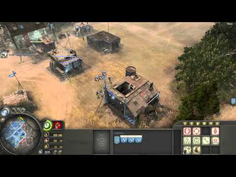 Company Of Heroes - Axis (Wehrmacht) Defensive Doctrine Gameplay VS Expert A.I.