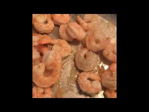Como cocinar camarones