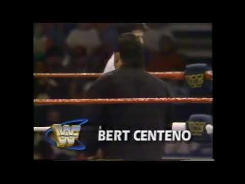 Mr Perfect vs Jobber Bert Centeno WWF Superstars 1993