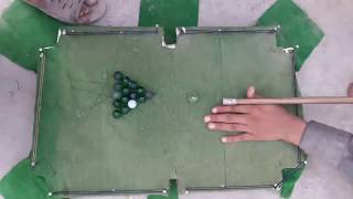 Amazing Kid's Snooker Game| Home made snooker table| Pakistani snooker | Yt Qurban.