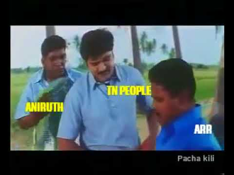 Aniruth song troll   shaajahan vs kothanaru   TN people condition right now