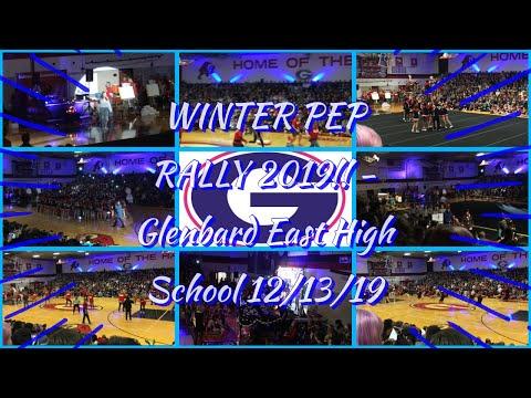 WINTER PEP RALLY 2019!! - Glenbard East High School 12/13/19