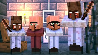 Granny vs Villager Life: FULL ANIMATION - Granny Horror Game Minecraft Animation