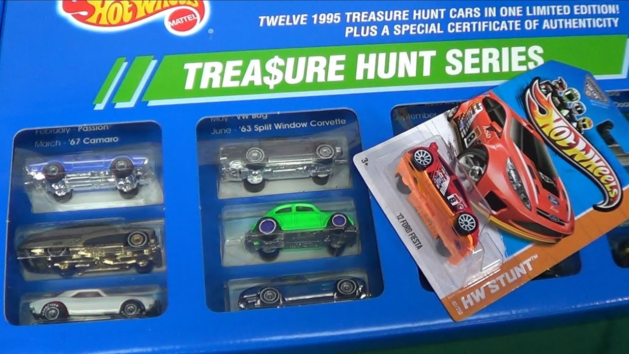 Hot Wheels Treasure Hunts How Rare Are They And What Are