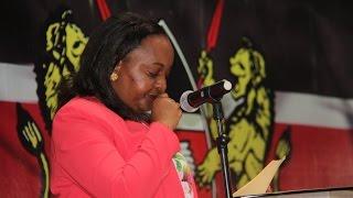 'I will not succumb to evil, vindictive attack' – Waiguru