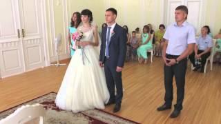 Свадьба ЗАГС на Мира, 24г г.Красноярск 18 июля 2015 г. ( видеограф Александр т. 8-923-285-00-69 )