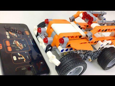 Машинки Роботы Оживают Apitor SuperBot Умный Конструктор