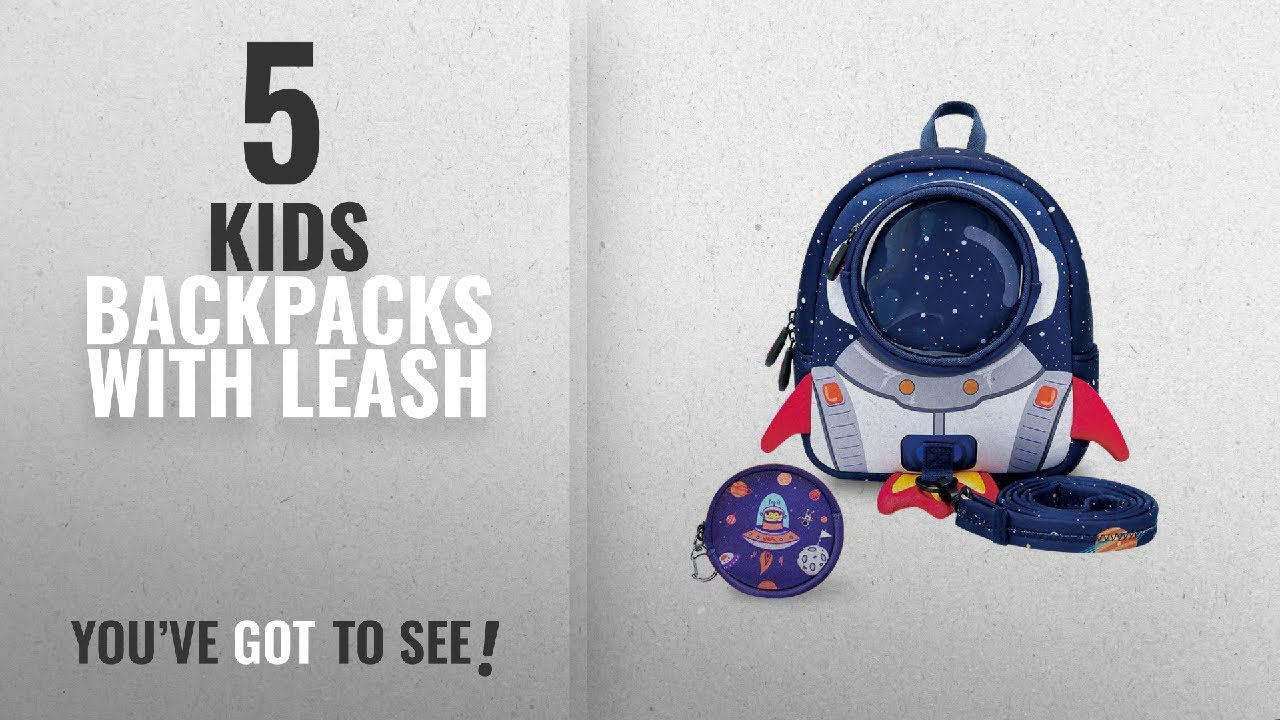 d034756a2896 Top 10 Kids Backpacks With Leash  2018 Best Sellers   YISIBO Rocket ...