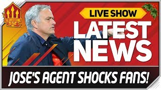 Mourinho Agent's Stunning Statement! Man Utd News Now