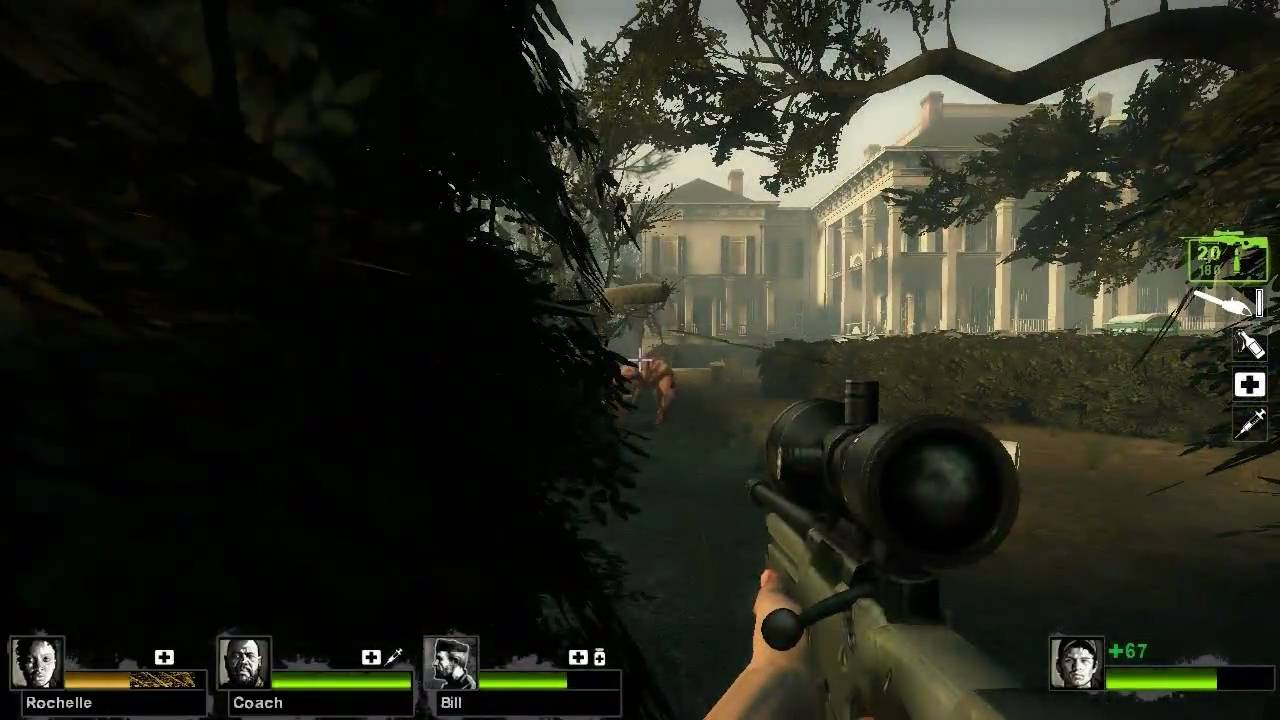 Hidden Weapons in Left 4 Dead 2