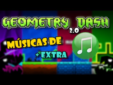 ¡DESCARGA TODAS LAS MÚSICAS DE GEOMETRY DASH 2.0! + SALUDOS//Eduardo Reportajes