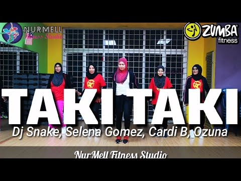 Zumba Taki Taki Dj Snake, Selena Gomez, Cardi B, Ozuna With Zin Nurul