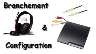 Branchement et Configuration du Casque Turtle Beach Ear Force P11 sur la Playstation 3
