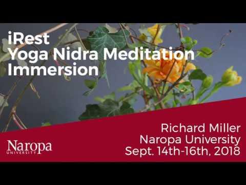 IRest, Yoga Nidra Metitation Immersion With Richard Miller