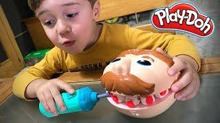 PLAY-DOH DENTIST PLAY SET FOR KIDS!! Playdough Playset Toys