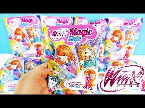 СЮРПРИЗЫ WINX CLUB MAGIC STYLE от Оригами! ИГРУШКИ, новая серия, ФЕИ, куклы, мультик КЛУБ ВИНКС