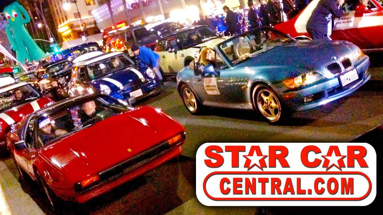 Star Cars Hollywood Christmas Parade All Cars W Delorean