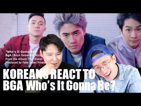 BGA-Who's It Gonna Be? KOREANS REACT! (Give us a call BGA!)
