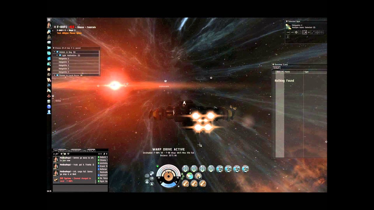 Eve Online Infiltrated Outposts Level 4
