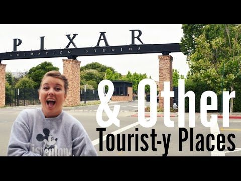 PIXAR Studios & Other Tourist-y Places