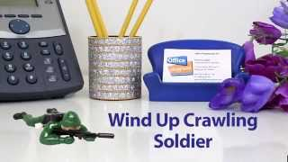 Wind Up Crawling Soldier