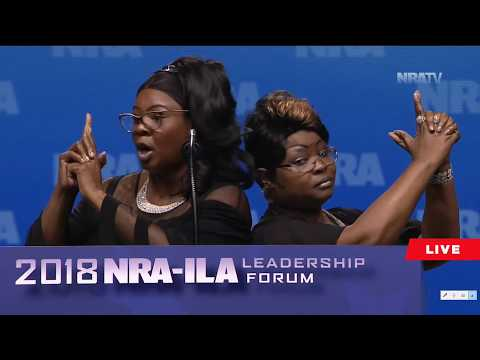 Diamond And Silk At NRA Convention 2018.