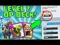 3200 TROPHIES AS A LEVEL 7! | Awesome Arena 7+ Bait Deck! | General Ladder Tips | Clash Royale