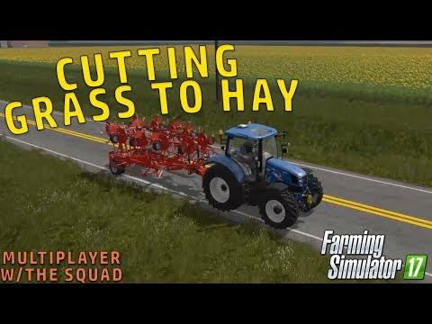 CUTTING GRASS FOR COWS | Alberta Farm | Farming Simulator 2017